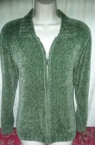 Croft & Barrow Zippered Sweater Size Large
